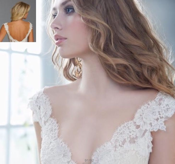 321 best images about detachable wedding gown straps for Adding straps to wedding dress