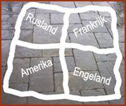 Landje veroveren ging als volgt. Er werd met krijt een groot vierkant op de straat getekend en verdeeld in vier vakken. Elk vak kreeg dan een naam van een land, meestal Rusland, Amerika, Frankrijk ...