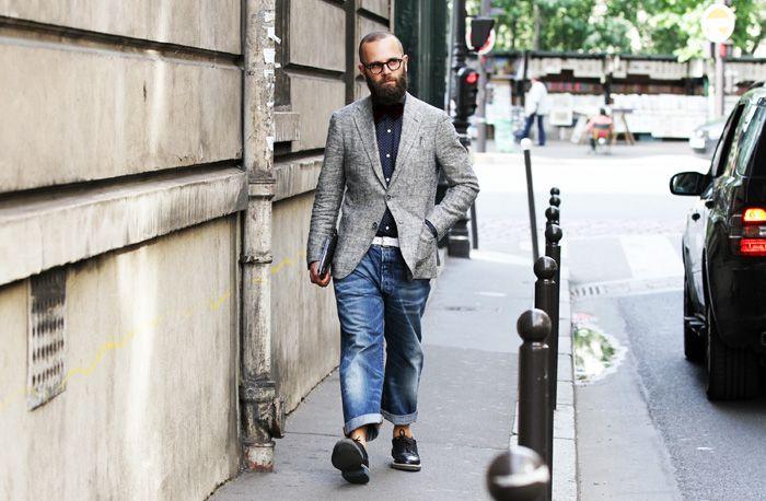 #street #style #denim