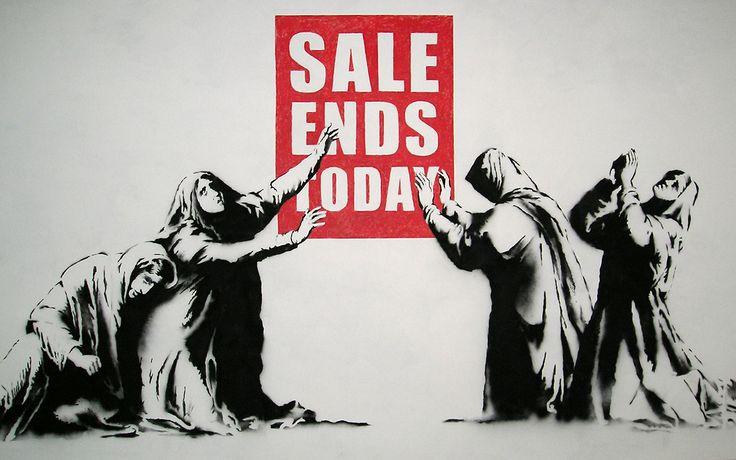 Banksy Street Art Wallpaper Sale Ends Today