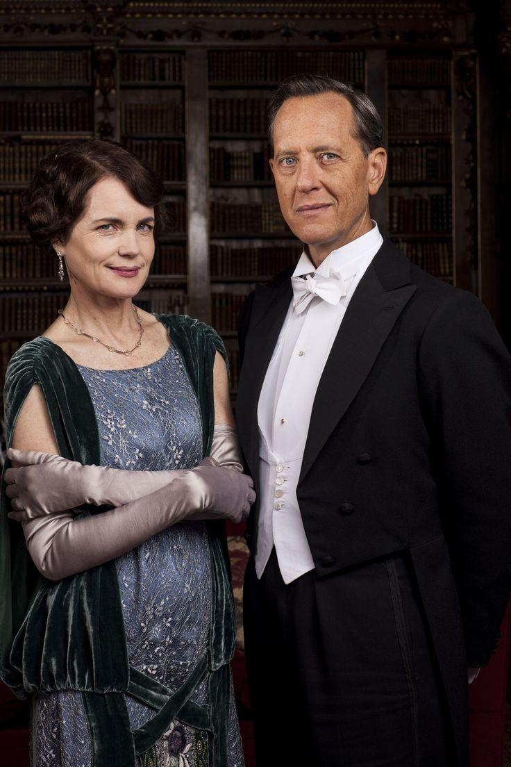 Cora, Countess of Grantham (Elizabeth McGovern)  and Simon Bricker (Richard E. Grant)
