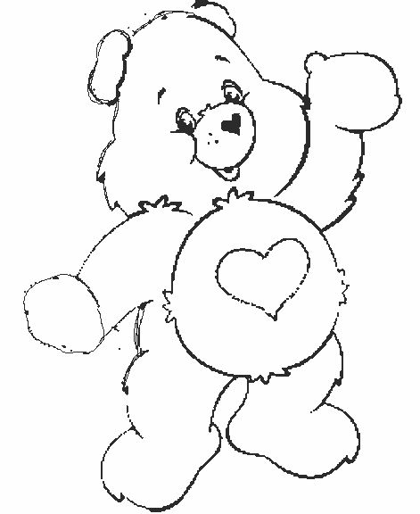 littlecare bear coloring pages - photo#22