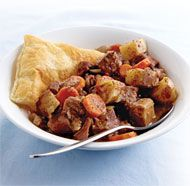 Steak and Guinness Pie - Maybe the BEST comfort food for a cold winter dinner.