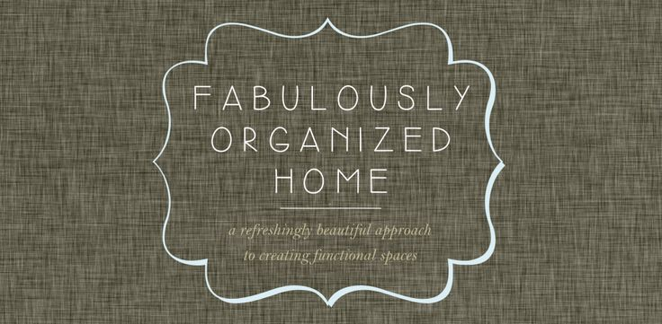 {the weekend organizer} creating simplified + organized personal reference files | Fabulously Organized Home