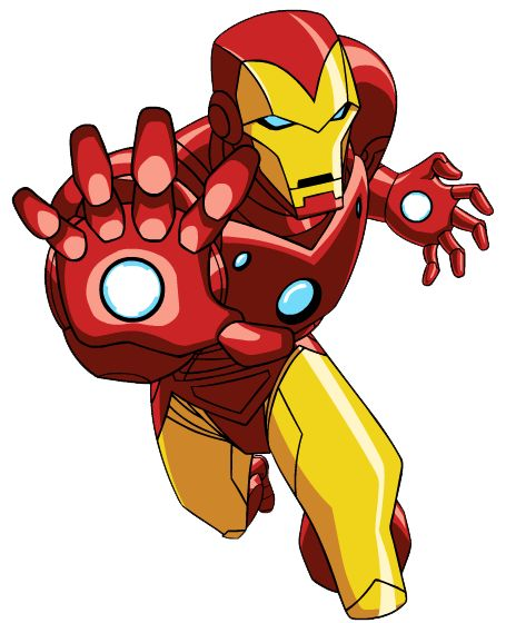 iron man from season 1 of the avengers earths mightiest heroes this and young justice