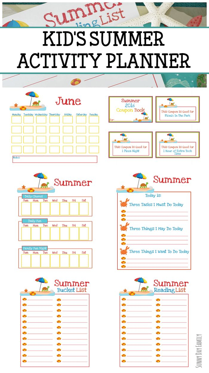 best ideas about coupon books mother s day printable summer planner for kids coupon book