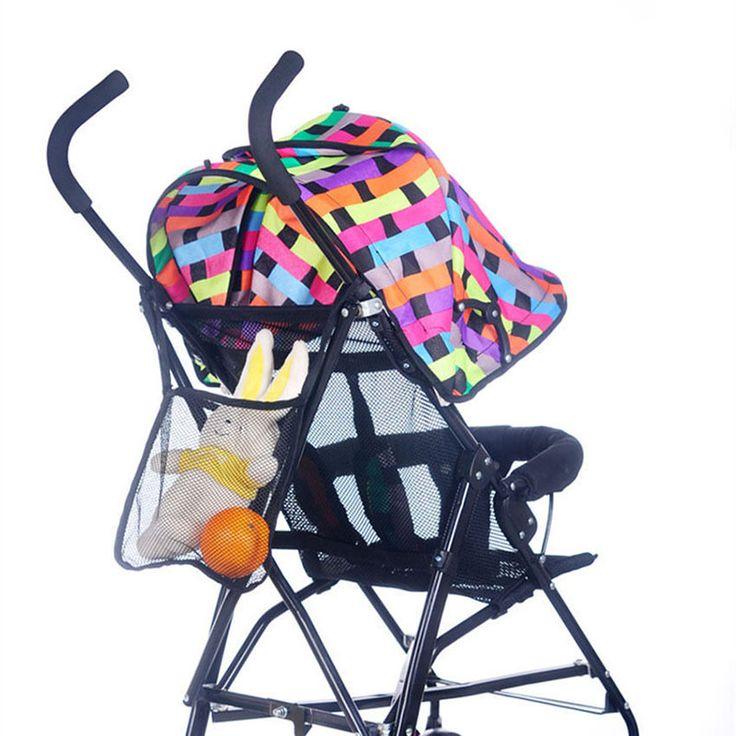 Детские коляски аксессуары сумка детская коляска сетка мешок чистой бб коляски-трости автомобиля YE01085