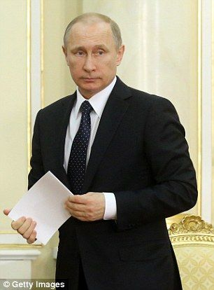 Russian President Vladimir Putin (pictured)has prioritised areas of defence where he thinks he can be superior to the West, according to experts