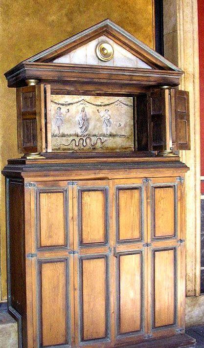 """lararium"" or shrine at Empire Studios, Tunisia, 2006. http://www.amazon.co.uk/exec/obidos/ASIN/B003CYOOE4/"