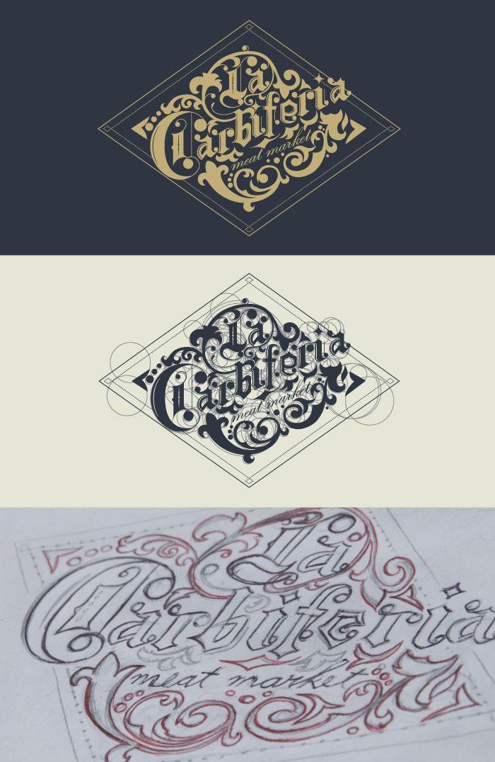 Diseño tipográfico para la marca