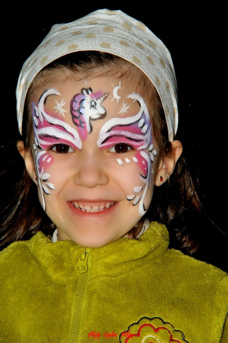 82 best images about maquillage enfant face painting on pinterest face painting designs wolf - Maquillage simple enfant ...