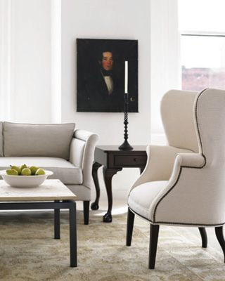 Living Rooms Persian Rug Wingback Chairs Nailhead Wingback Chairs White Wingback Chairs