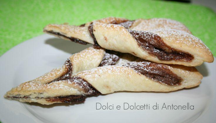 pasta sfoglia nutella dolci e dolcetti di antonella