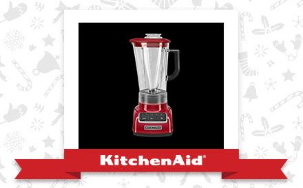 The Empire Red 5-Speed Diamond Blender is the appliance of my holiday dreams. Declare and Share your favourite KitchenAid small appliance for a chance to win it!