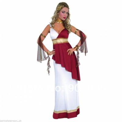 >> Click to Buy << FREE SHIPPING zy390 Ladies Roman Empress Greek Goddess Toga Fancy Dress Costume #Affiliate