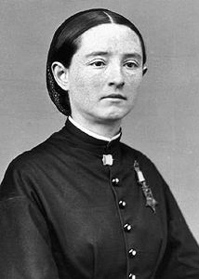 Mary Edwards Walker is the first and only woman in history to earn the Congressional Medal of Honor. When the Civil War broke out, she went to Washington and tried to join the Union Army. She was denied a commission as a medical officer but volunteered anyway, serving unpaid as an acting assistant surgeon, the first female surgeon in the U.S. Army.