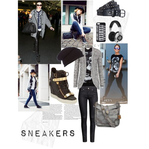 """Sneakers"" by gelykou on Polyvore"