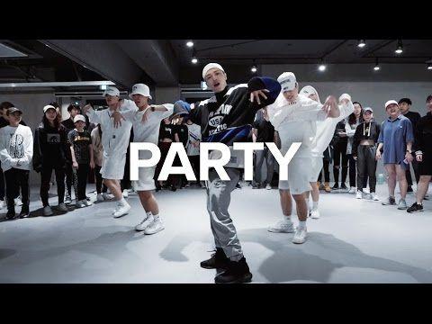 Party - Chris Brown ft. Gucci Mane, Usher / Junsun Yoo Choreography - YouTube