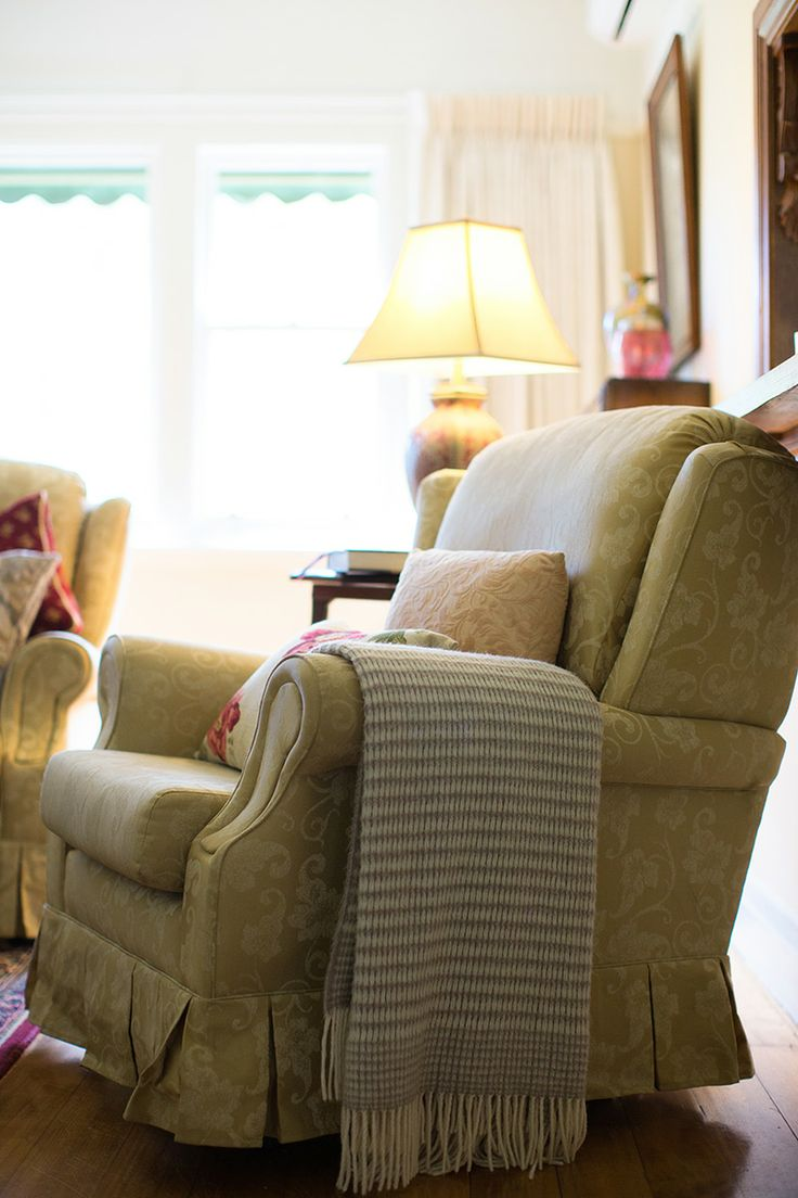 Comfy Chair In The Majestic Suite Sitting Room Adeline Bed And Breakfast