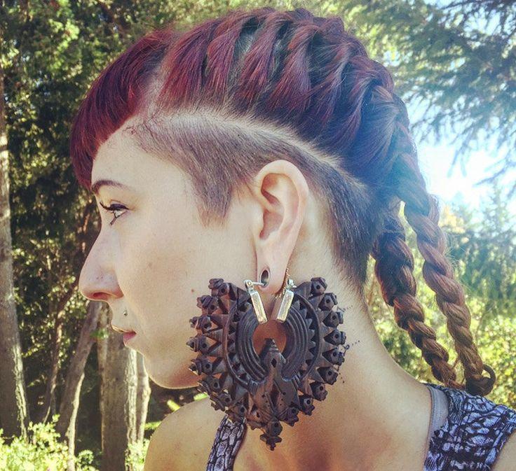 Hout Tribal oorbellen ~ Mandala oorbellen ~ oor gewichten ~ Tunnel Guage oorbellen ~ Tribal hoepel oorbellen ~ Tribal oorbellen ~ pluggen voor manometers ~ tribale sieraden door Vedora op Etsy https://www.etsy.com/nl/listing/400066001/hout-tribal-oorbellen-mandala-oorbellen
