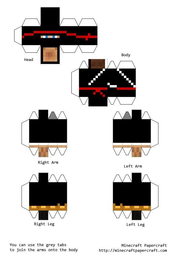 papercraft minecraft skins Buscar