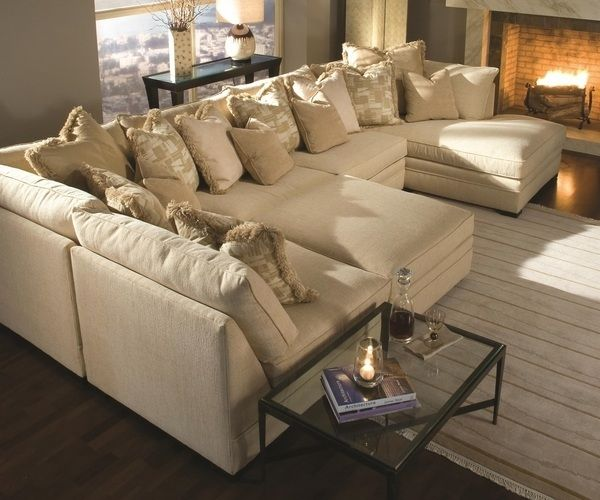 Merveilleux Contemporary Sectional Sofa Oversized Couches Designs White Rug Living Room  Design