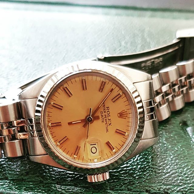 Found this beautiful vintage piece. #rolex