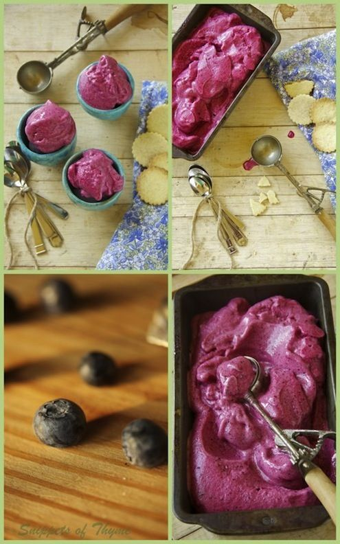 Mixed Berry Sorbet this was a real pain to make but it was worth every ...