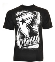 Famous Stars and Straps clothes - cool mens t shirts - fsas clothing UK