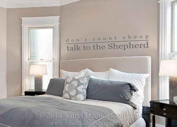 23 best Master Bedroom Wall Decals images on Pinterest | Bedroom ...