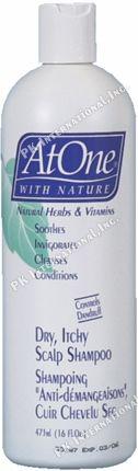 At One Dry Itchy Scalp Shampoo 16oz  PK-AT16758