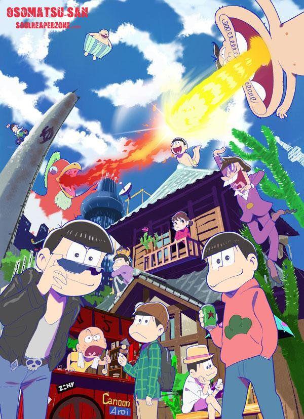 Osomatsu-san   Episodes480p 60MB   720p 90MB MKV   #Osomatsusan  #Soulreaperzone  #Anime