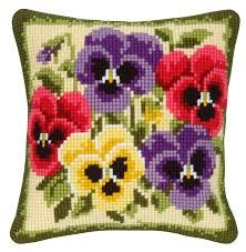 Image result for cross stitch cushions