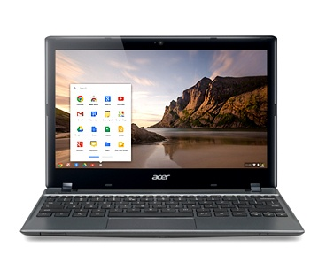 Noul Chromebook Acer C7  -  Intotdeauna Aplicatii / Intotdeauna HD / Intotdeauna Simplu / Intotdeauna NOU