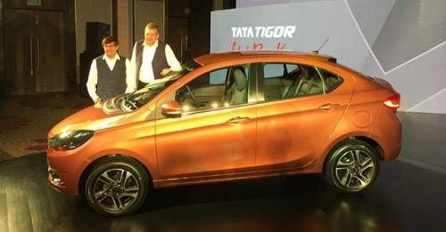 Upping the ante in the crowded compact sedan category, Tata Motors on Wednesday launched Tata Tigor, its third product in the tax-efficient sub-four metre sedan segment.
