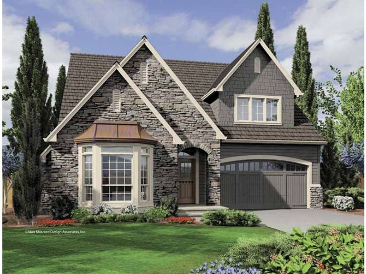 451 best house plans images on pinterest architecture for English cottage style home plans