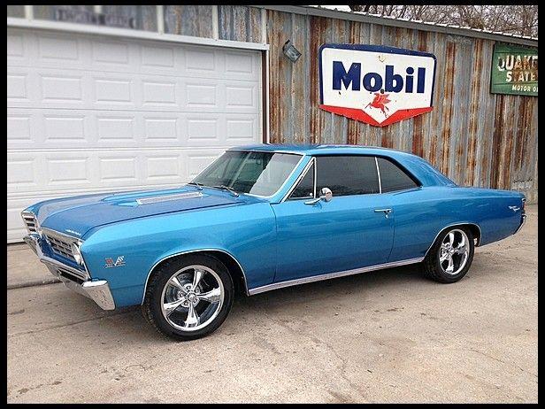 1967 Chevrolet Chevelle SS   Mecum Auctions sold 35k