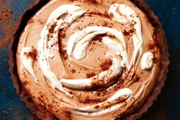 Give a classic chocolate tart an Aussie Milo twist.