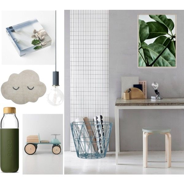 child room by ioanaturcanu on Polyvore featuring interior, interiors, interior design, home, home decor, interior decorating, ferm LIVING, Bloomingville, Soma and Moulin Roty