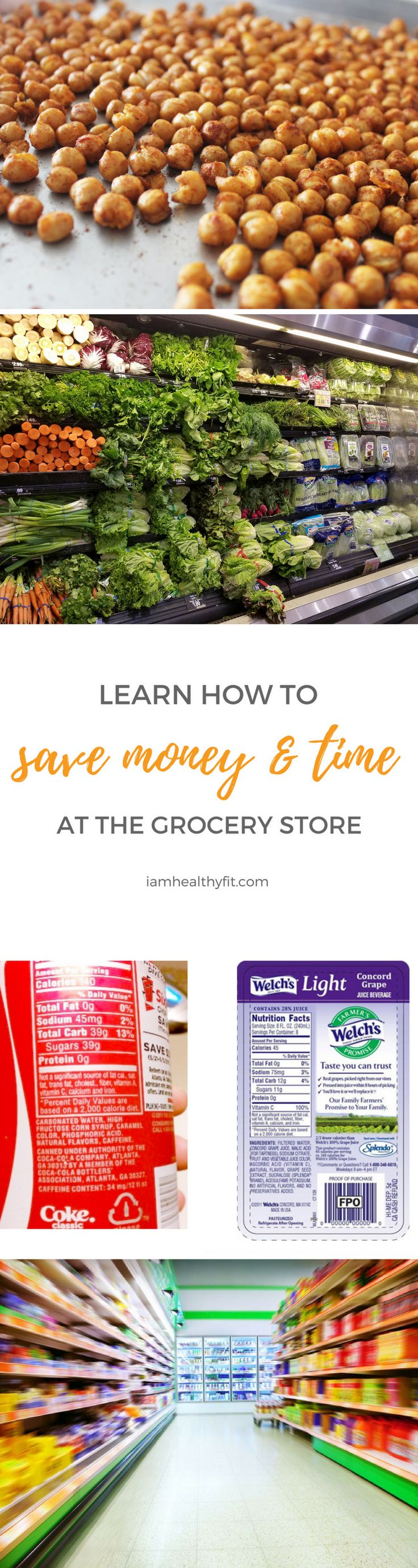 Tired of wasting time and money at the grocery store? Here are five simple things you can do to stay in control the next time you visit.