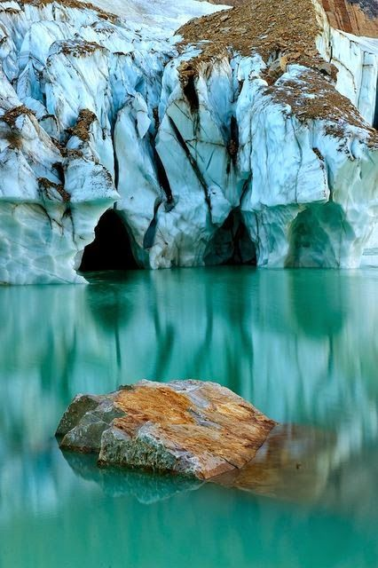 Angel Glacier, Jasper National Park, Alberta Canada