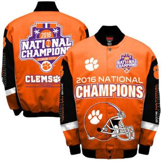 Clemson Tigers 2016 NCAA National Football Championship Jacket. Order From >>>> bjsportstore.com