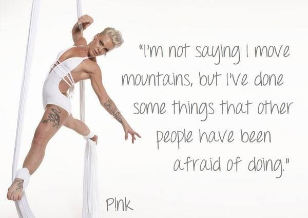 inspirational quotes by singer pink quotesgram
