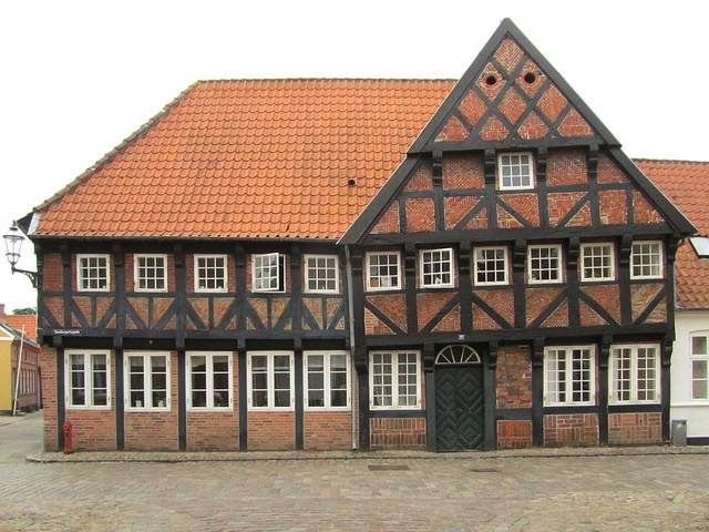 Ribe, Denmark- I love how most of the buildings are crooked now!