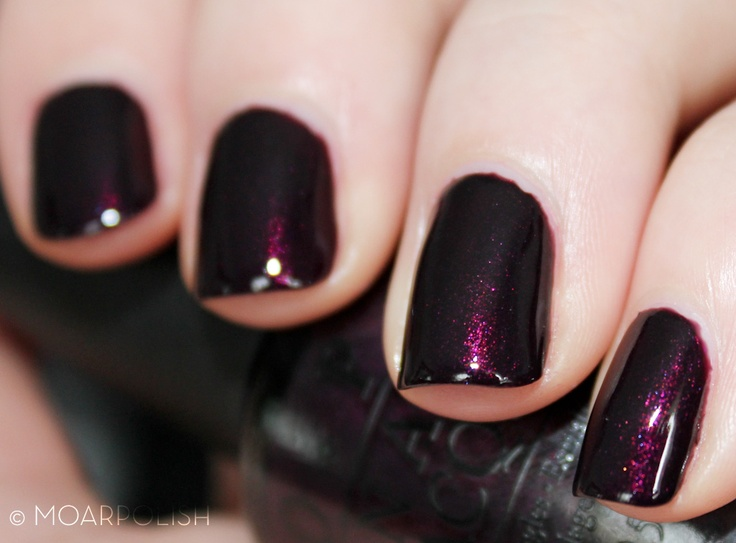 OPI Black Cherry Chutney This is a pretty color. Incensewoman
