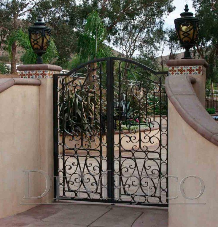 Hacienda Style Gate