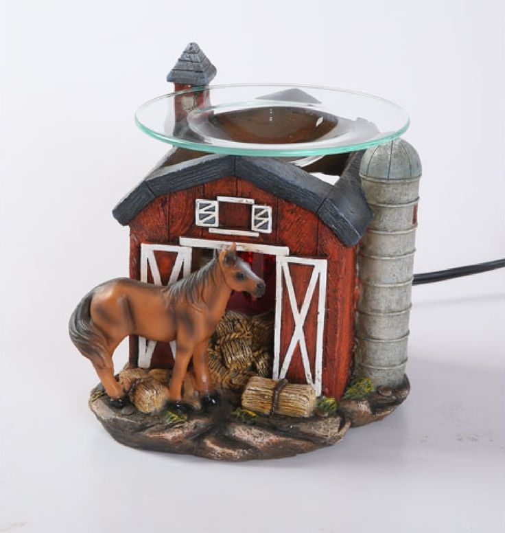 RED BARN HORSE ELECTRIC OIL WARMER