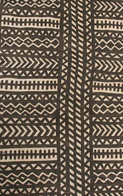 K A T H R Y N C L A R K: I couldn't resist ... this african mud cloth