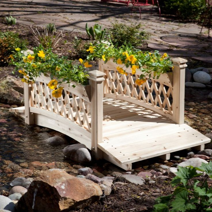 1000+ Images About Creek Garden Bridge On Pinterest