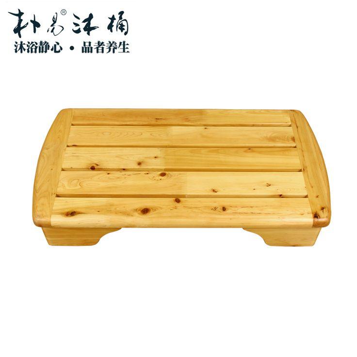 en bois massif tape tapis salle de bains tabouret antidrapante tte de quai bois de cdre - Tapie Salle De Bain Aliexpress